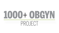 logo of 1000+ obgyn project