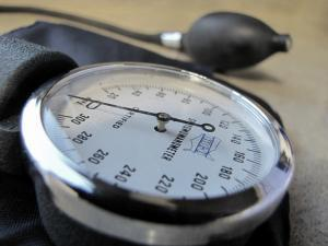 Image of blood pressure meter