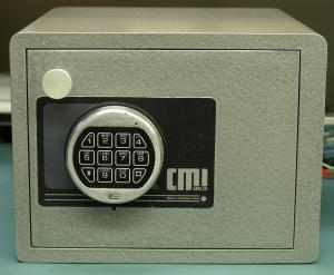 Image of a home safe