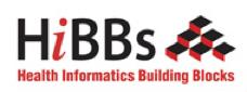 HiBBs; Health Informatics Building Blocks logo