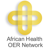 Logo for African Health OER Network Small