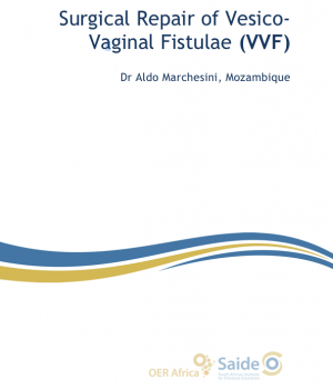 Cover of Surgical Repair of Vesico-Vaginal Fistulae (VVF) Booklet