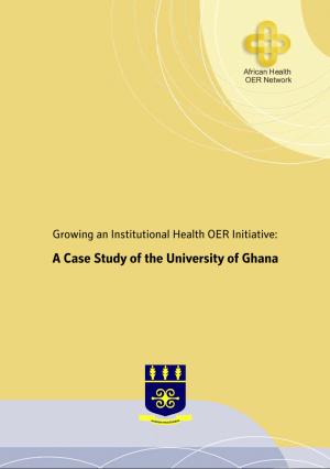 Cover of University of Ghana Case Study