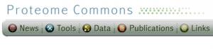 Proteome Commons logo