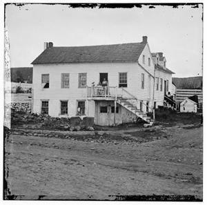 Picture of John L. Burns cottage in Gettysburg, Pennsylvania